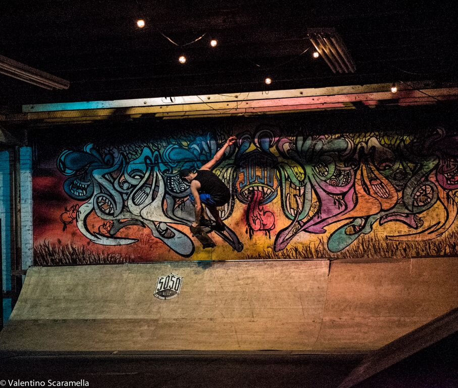 Grab by Skater at 5050 Skatepark 2015 photo Valentino Scaramella