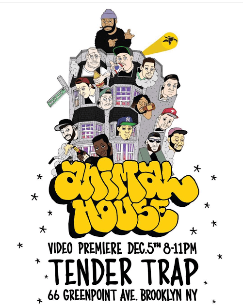 Animal Bikes Video Premiere at Tender Trap
