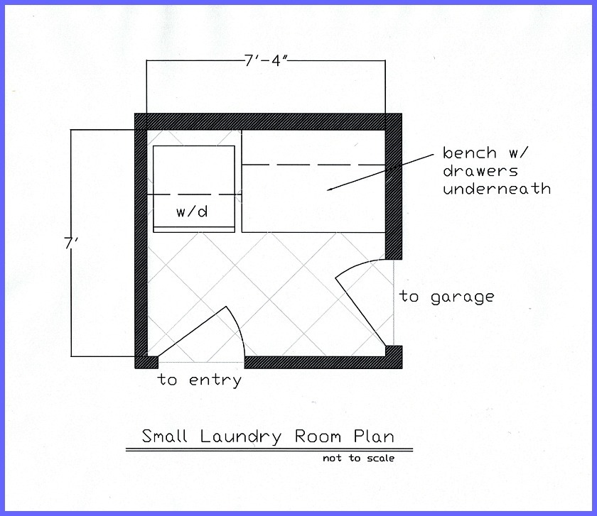 Small laundry room 509 design for Laundry room plans
