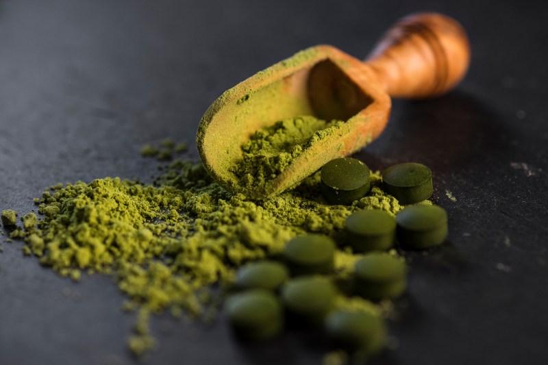 Organic Chlorella Powder and Tablets