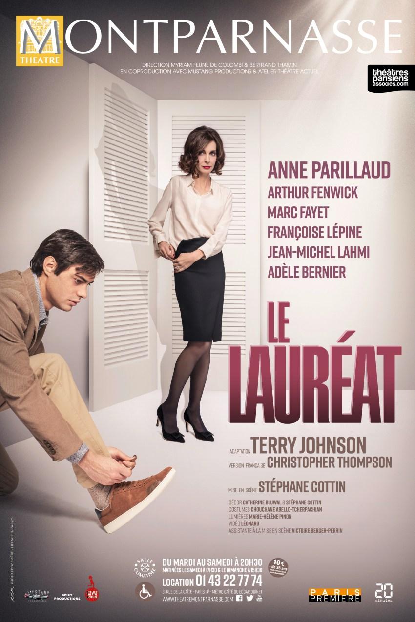 Le Lauréat théâtre Montparnasse