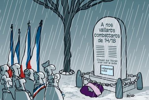 Les commémorations du 11 novembre célèbrent tous les morts pour la France