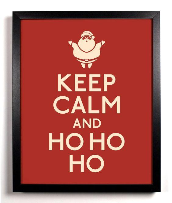 keep calm noël