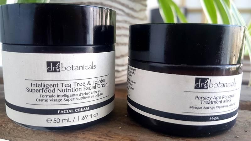 Dr botanicals crème et masque