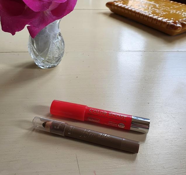 crayons à lèvres, crayons à sourcils Bourjois paris, maquillage facile