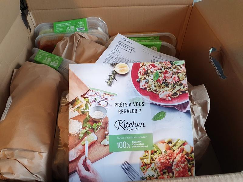 Kitchendaily livraison de repas à domicile