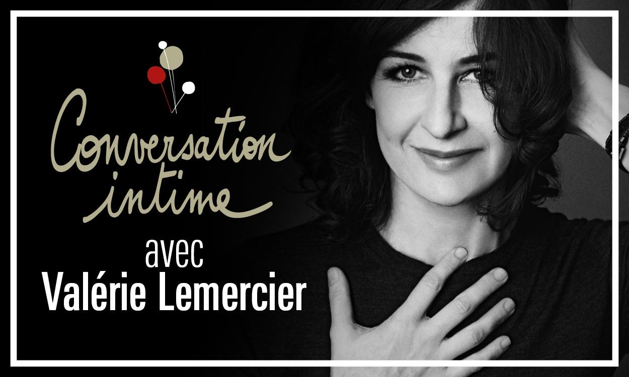 Conversation intime au théâtre national de Nice Valerie Lemercier