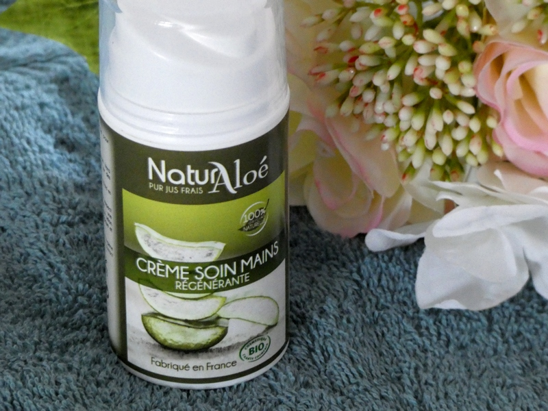 crème soin mains Naturaloe tribulations d'une quinqua