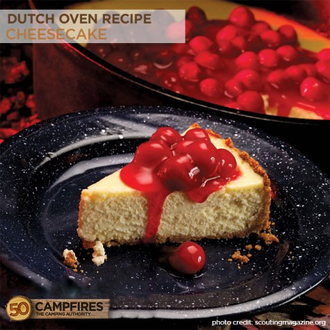 Could it be?? Dutch Oven Cheesecake!