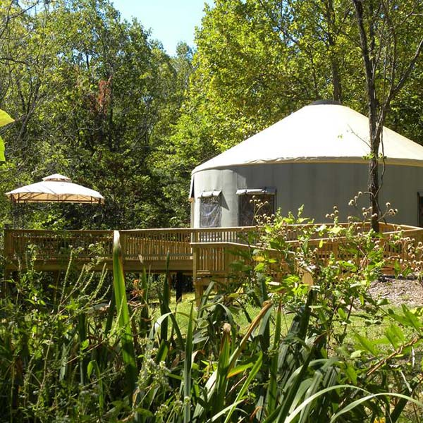 airbnb experiences include this private yurt in Virginia