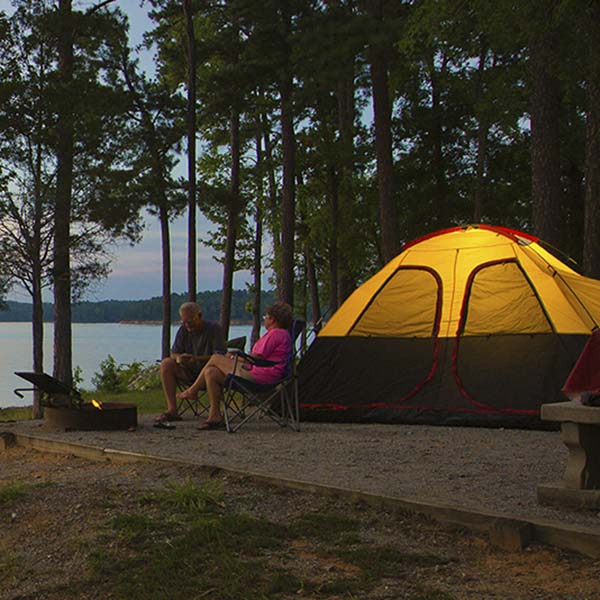outdoor lovers are sure to love Georgia's Hart State Outdoor Recreation Area