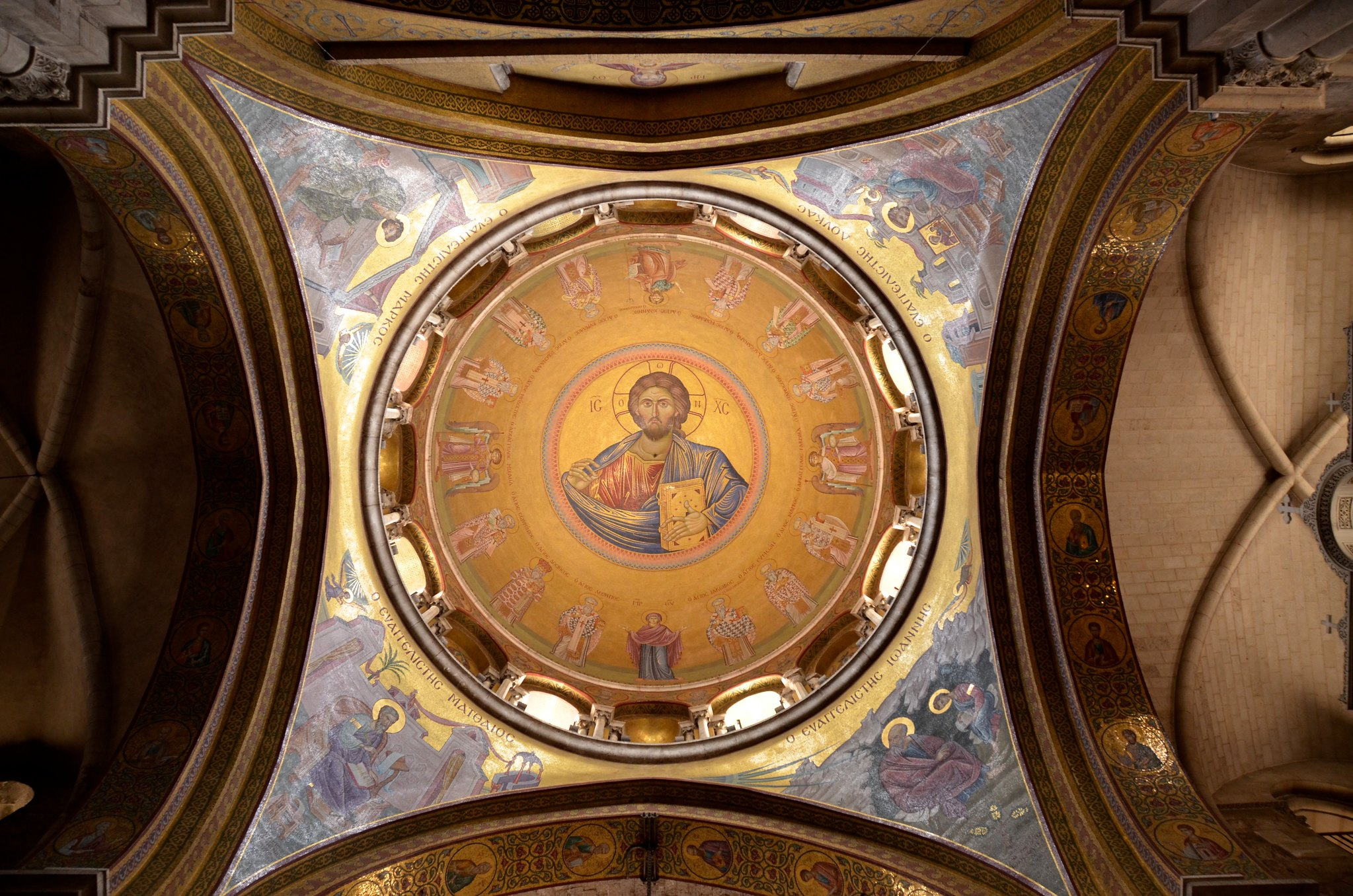 Christ in dome