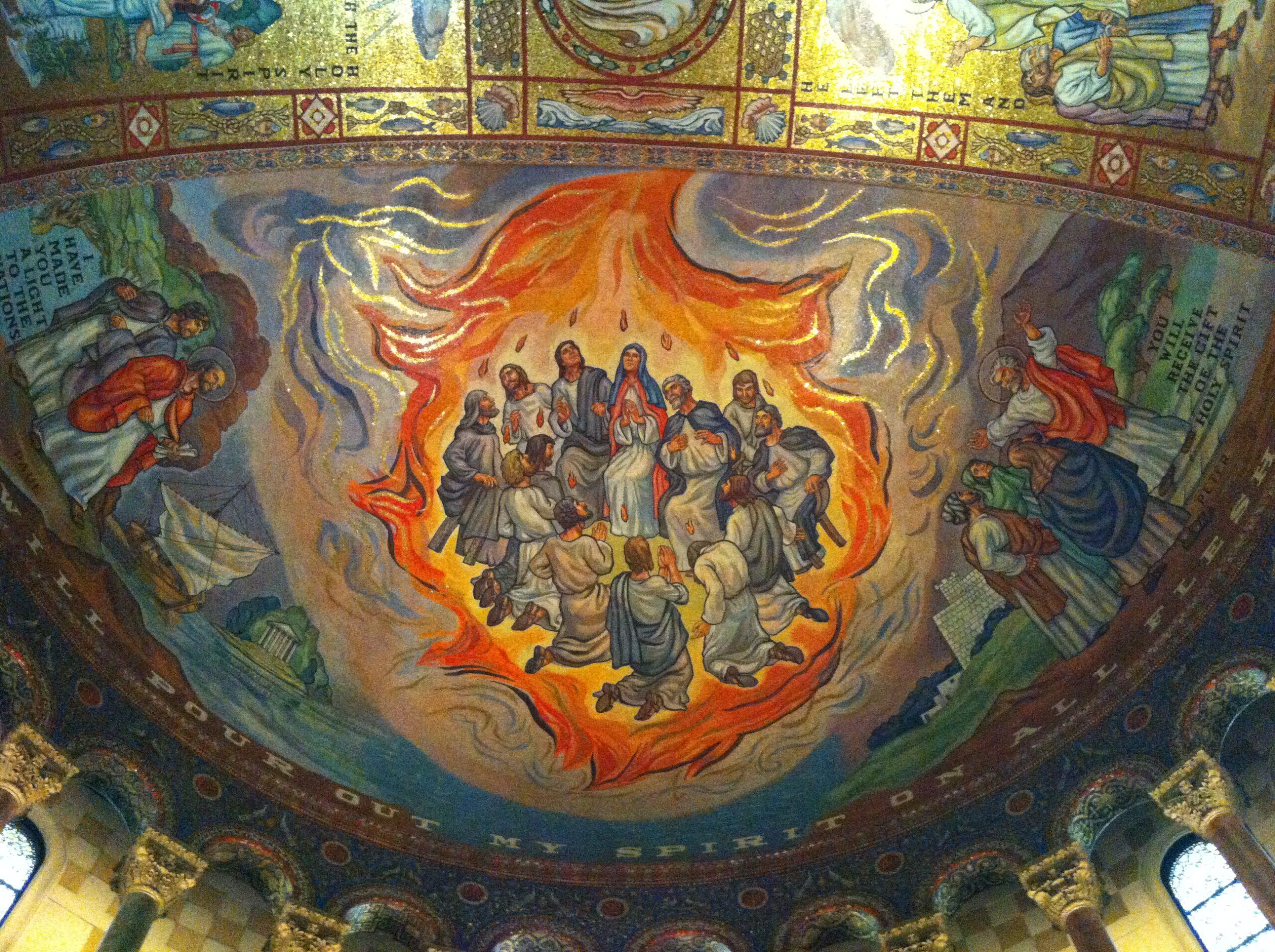 pentecost mosaic