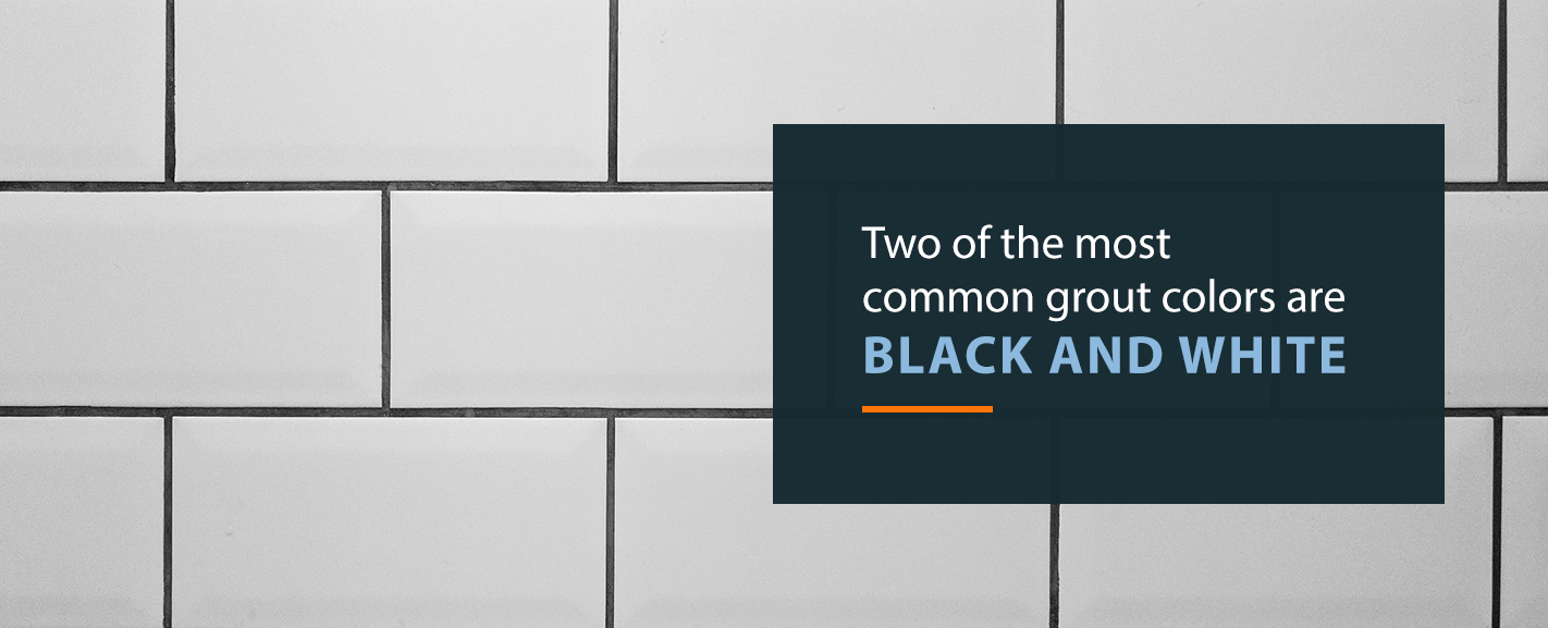 choose the right tile grout color