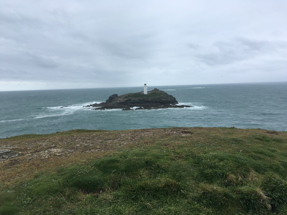 Godrevy Lighthouse, from Godrevy Point (LEJoG Day 3)