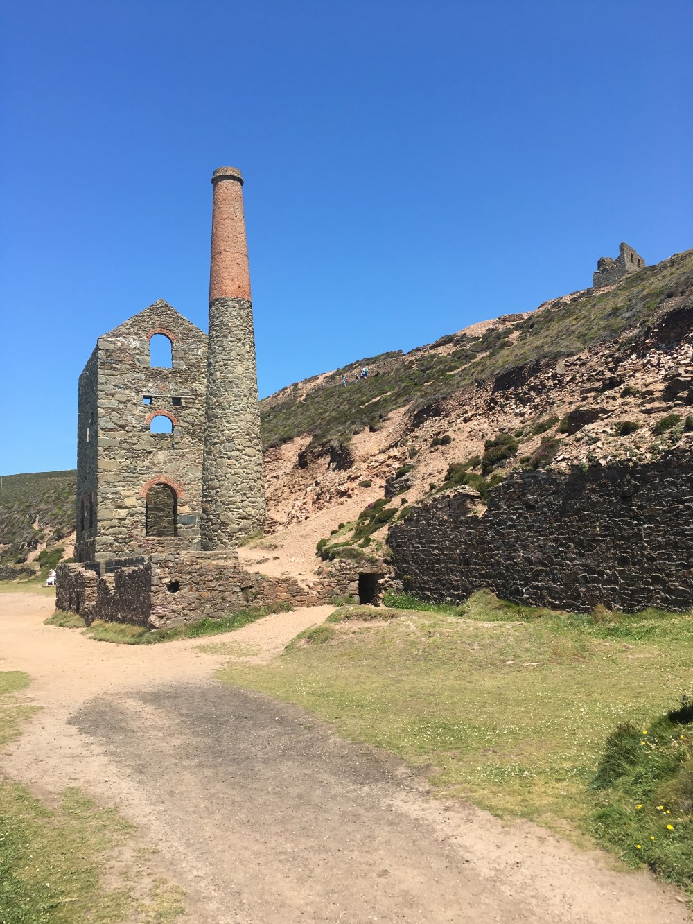 Wheal Coates, a UNESCO World Heritage site near Chapel Porth, Cornwall