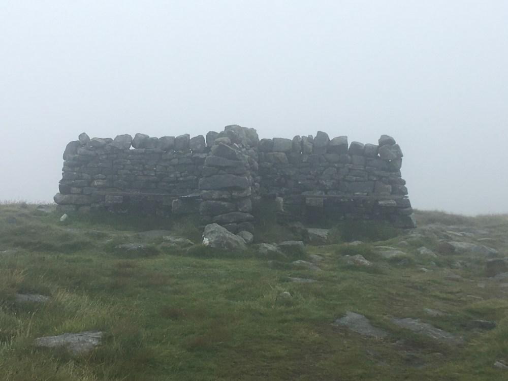 Great Shunner Fell summit, LEJoG Day 48