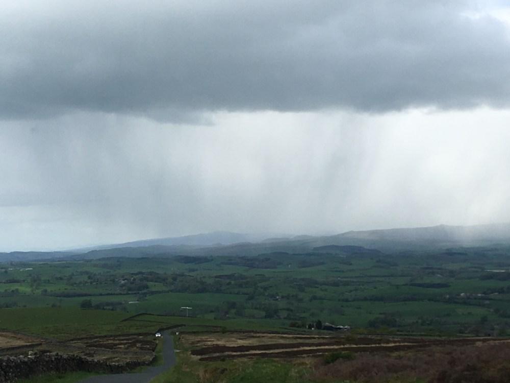 Amazing raincloud, LEJoG Day 44