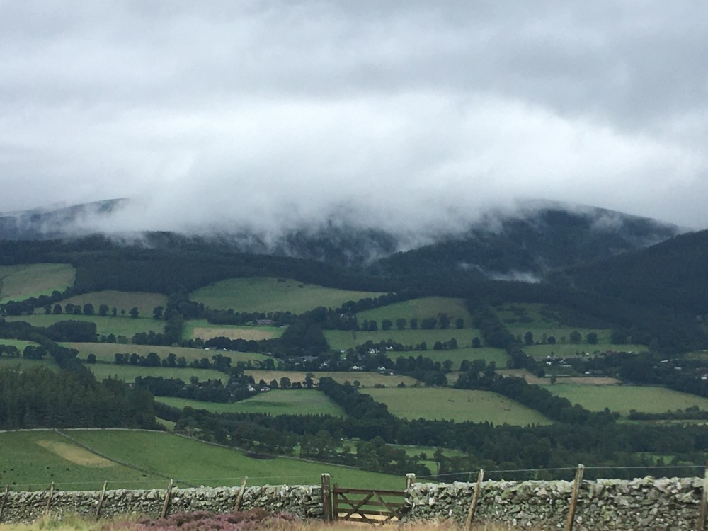 614 Under cloud approaching Peebles