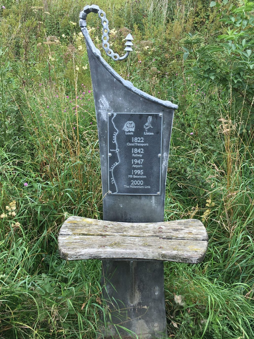 642 Ratho canal sign