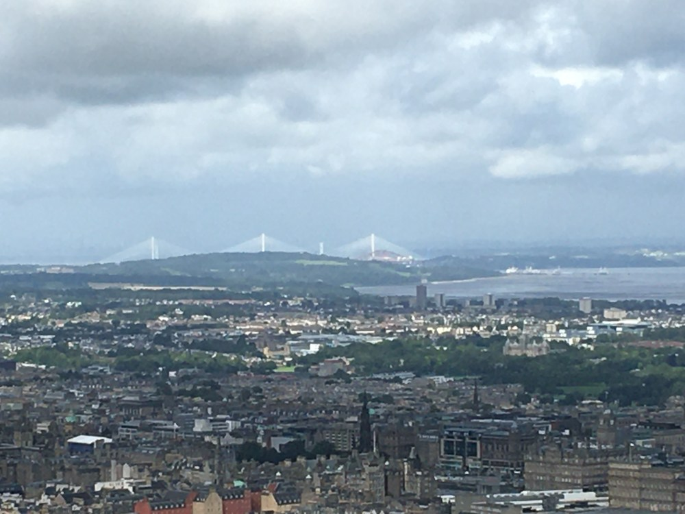 View of Forth from summit