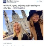 Saint Louis University – Business School Social Media