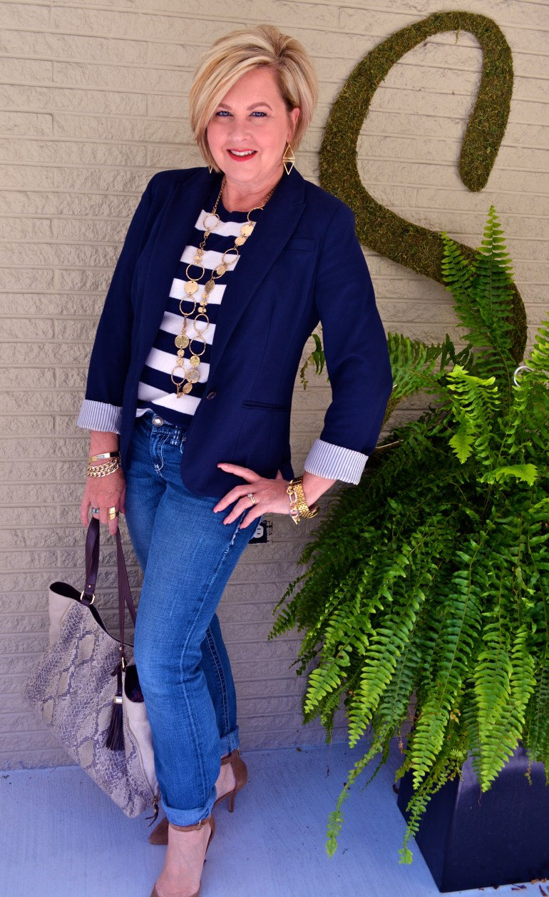 50 Is Not Old  Stripes & Nautical Influence