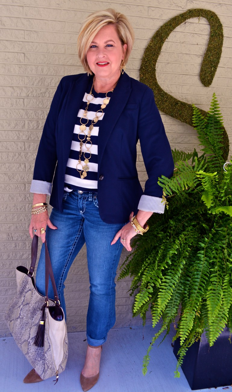 50 Is Not Old  Stripes & Nautical Influence 1