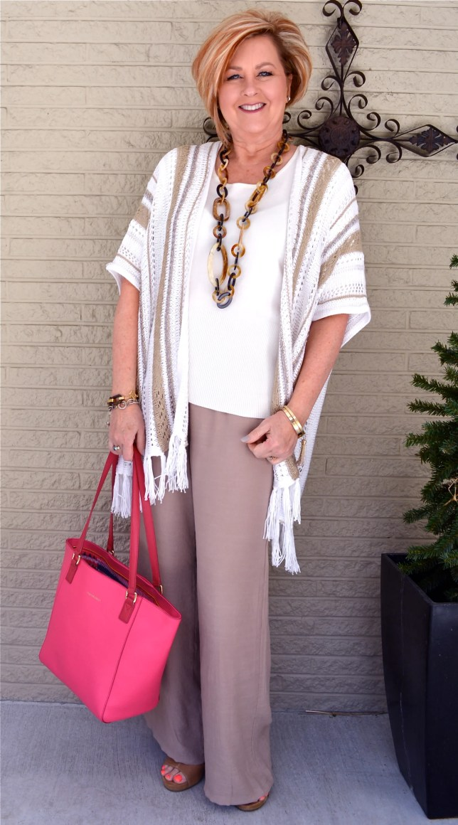 50 Is Not Old | Linen Pants Are Perfect For Spring