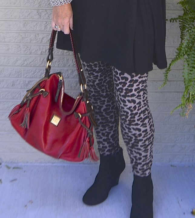 50 IS NOT OLD | LEOPARD PRINT LEGGINGS