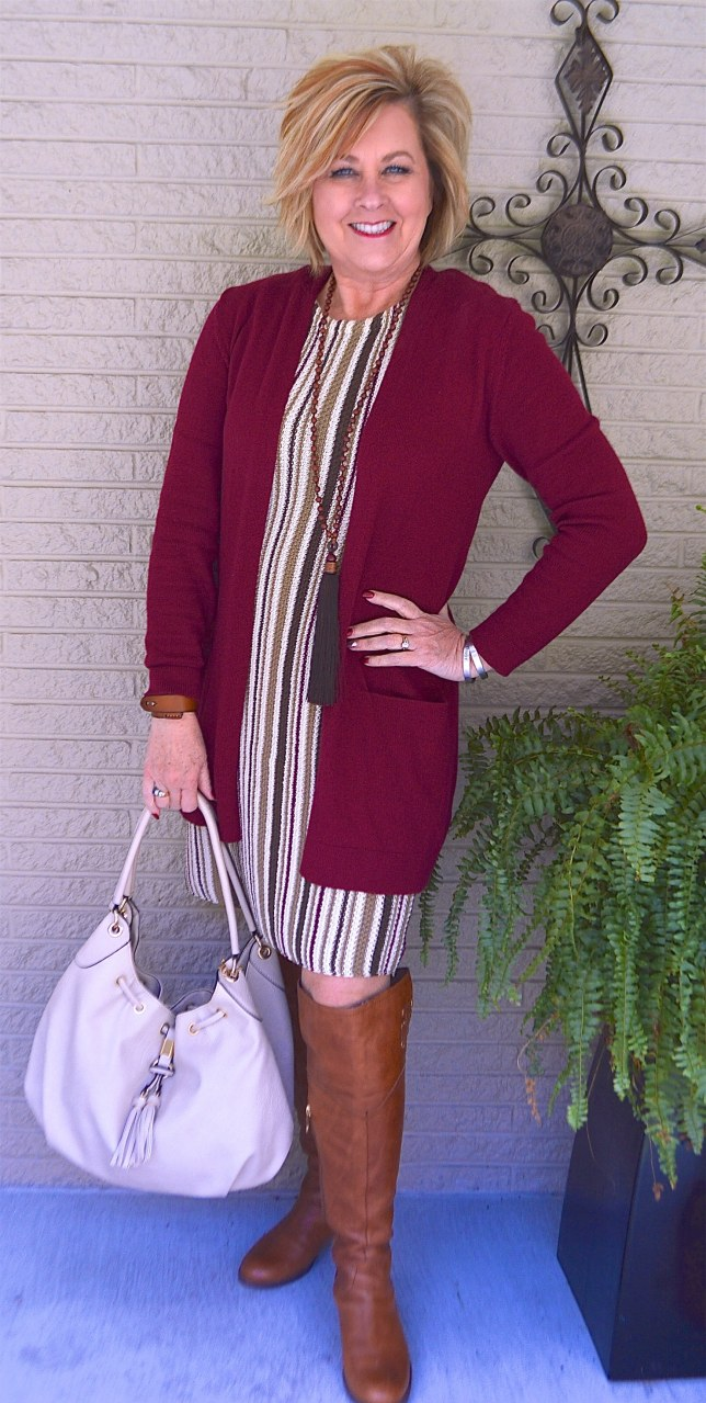 50 IS NOT OLD | HOW TO STYLE OVER THE KNEE BOOTS