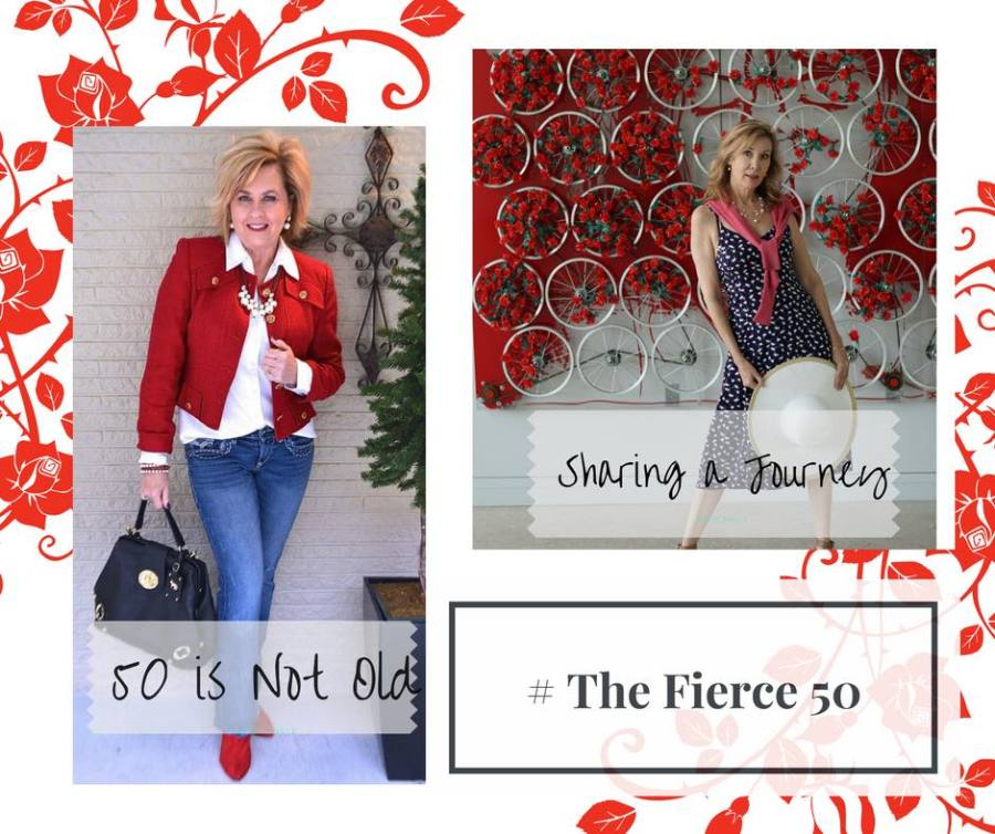 50 IS NOT OLD | THE FIERCE 50 CAMPAIGN