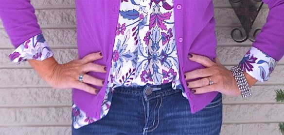 50 IS NOT OLD | HOW TO STYLE A PRINT TOP