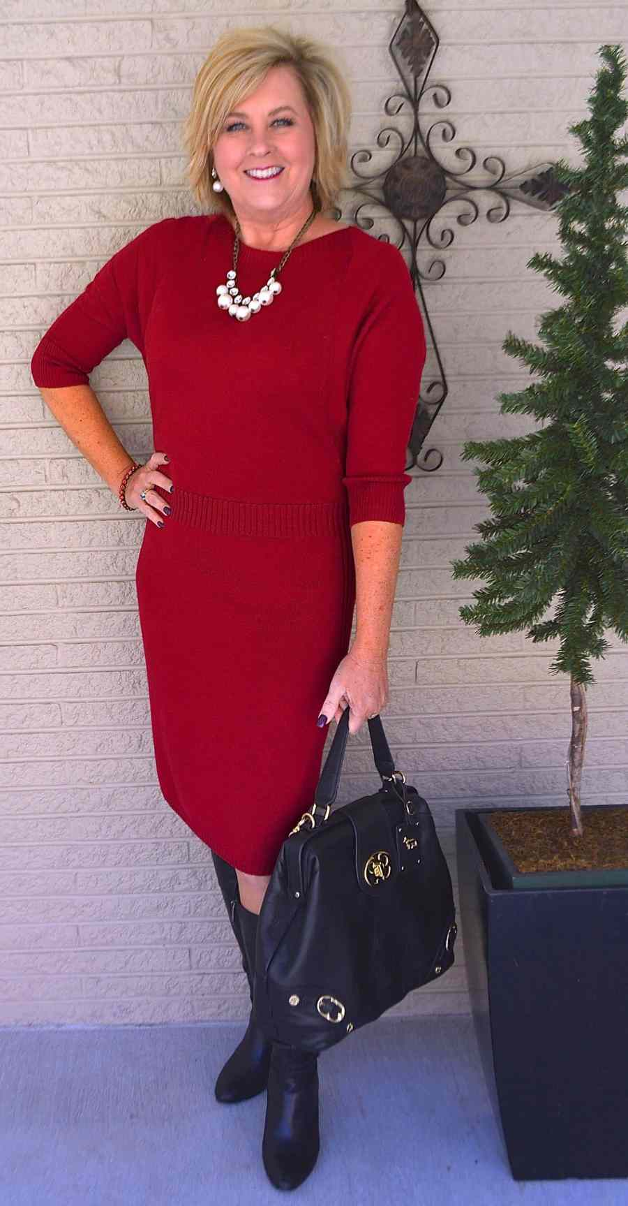 50 IS NOT OLD | LADY IN RED
