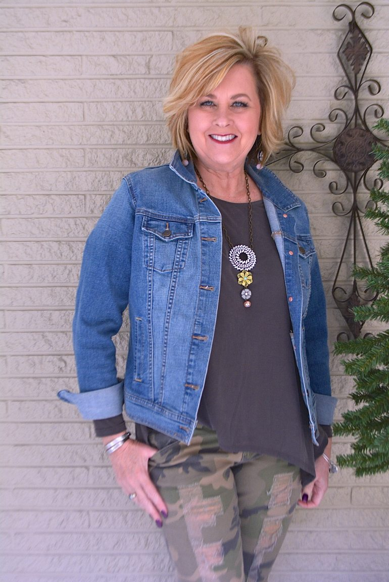 50 IS NOT OLD | A DENIM JACKET IS CLASSIC