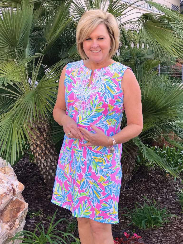 50 IS NOT OLD | COLORFUL DRESS FOR SPRING