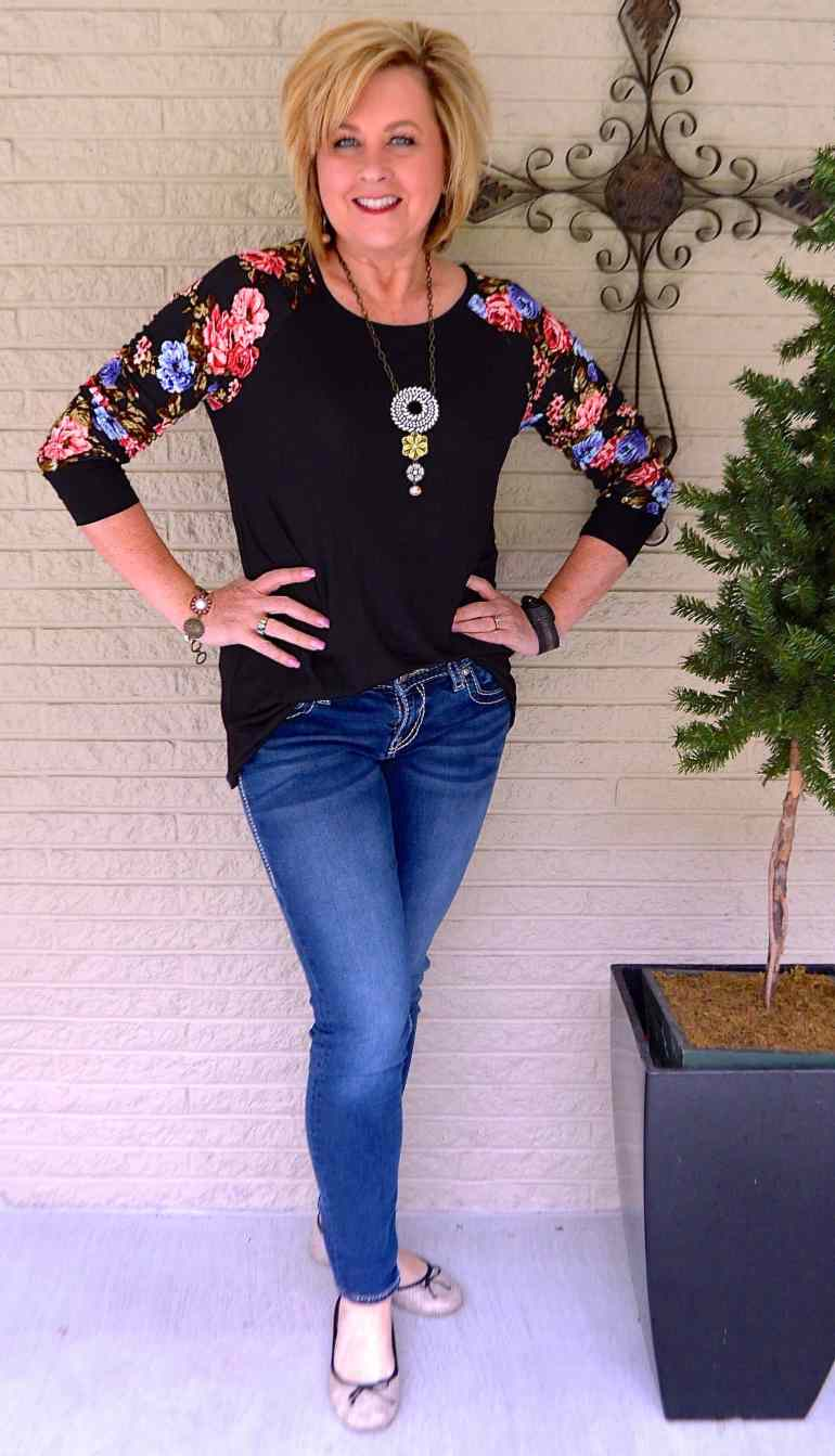 50 IS NOT OLD | FLORAL SLEEVES FOR SPRING