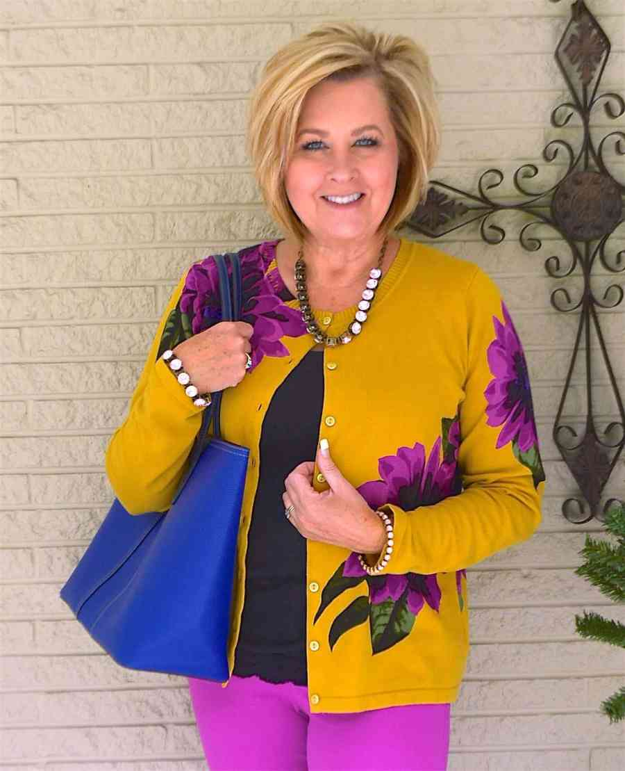 50 IS NOT OLD | A BOLD PRINT FOR SPRING