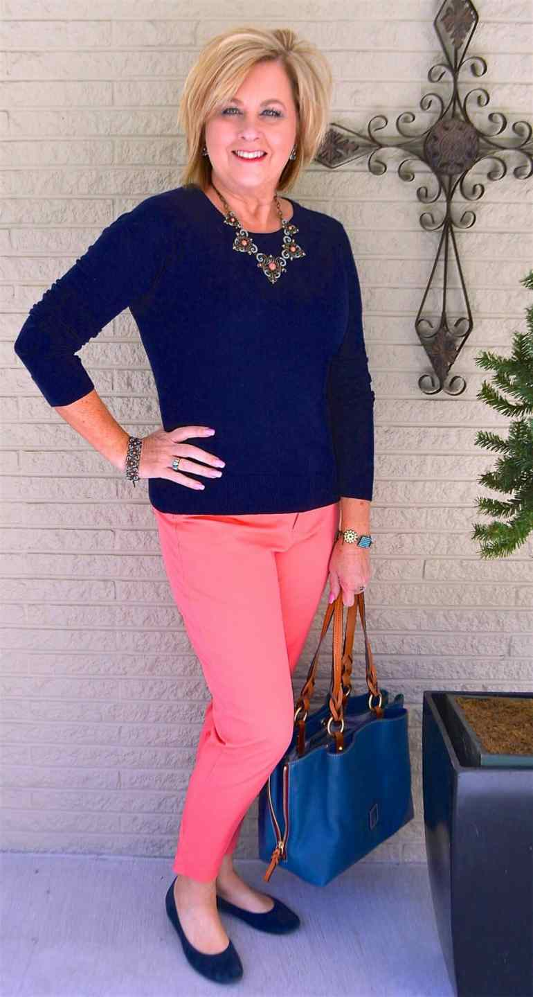 50 IS NOT OLD | HOW TO STYLE WITH TWO SOLID COLORS