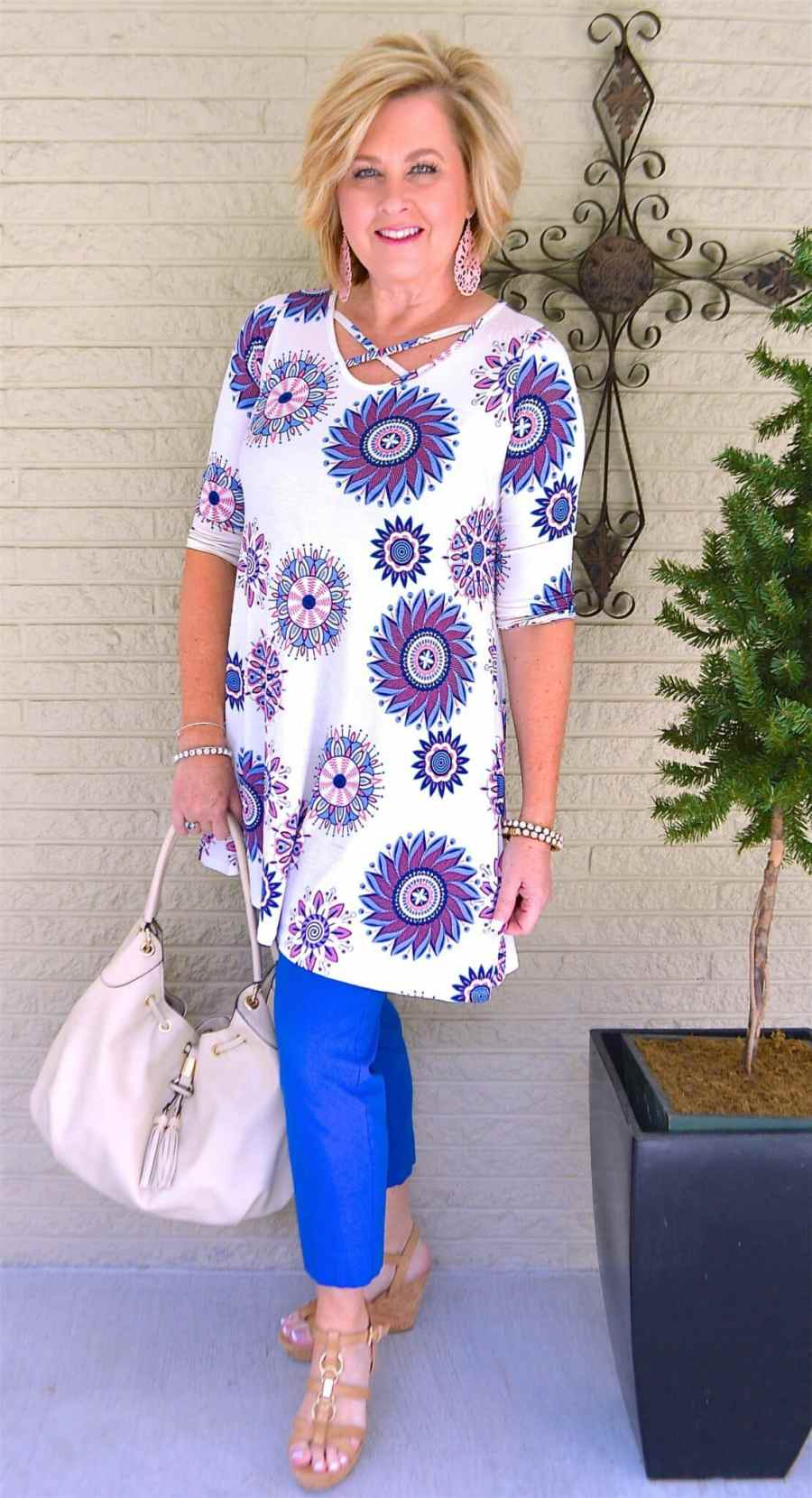 50 IS NOT OLD | TUNIC AND ANKLE PANTS