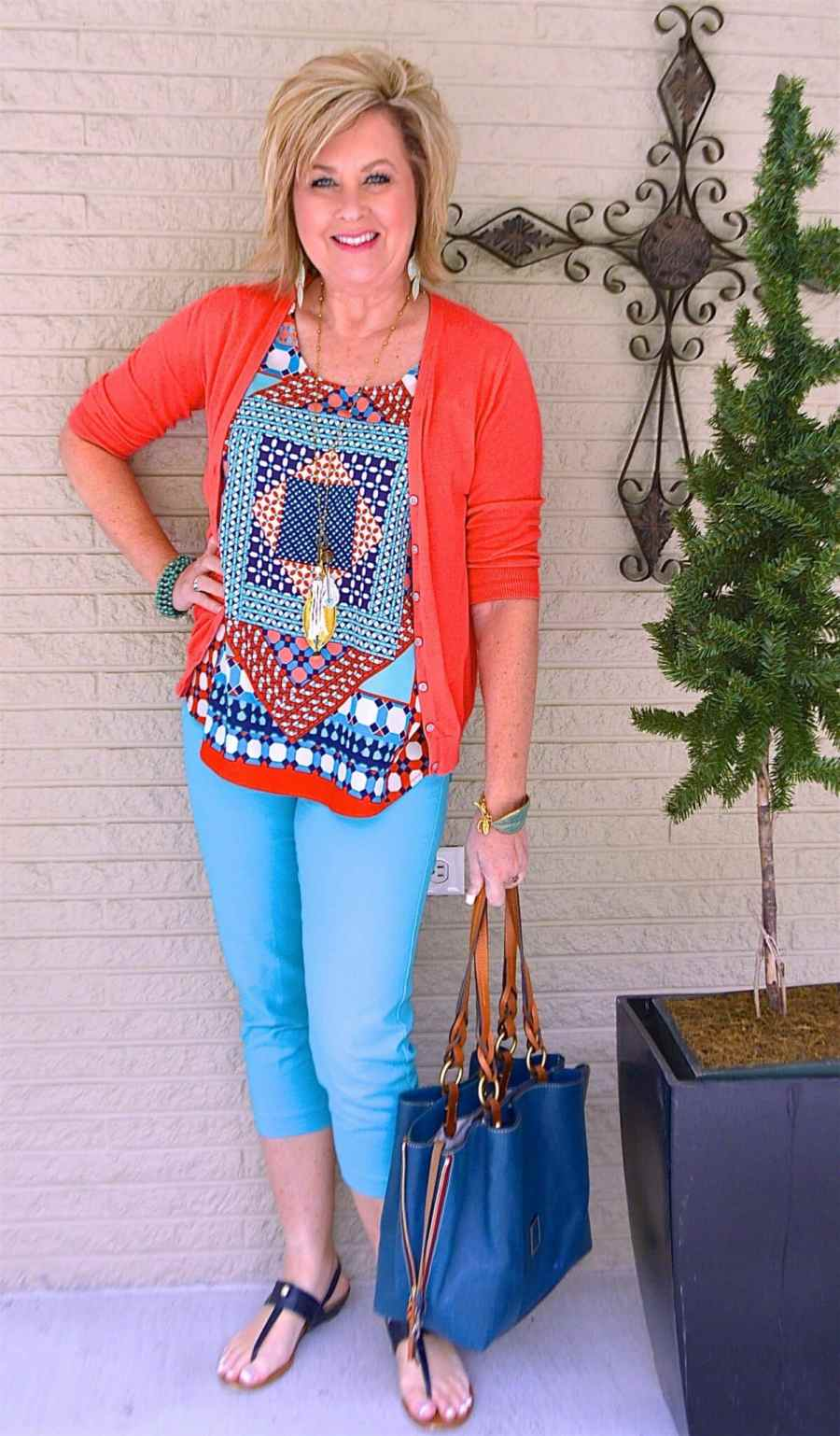 50 IS NOT OLD | BLUE AND ORANGE GO TOGETHER