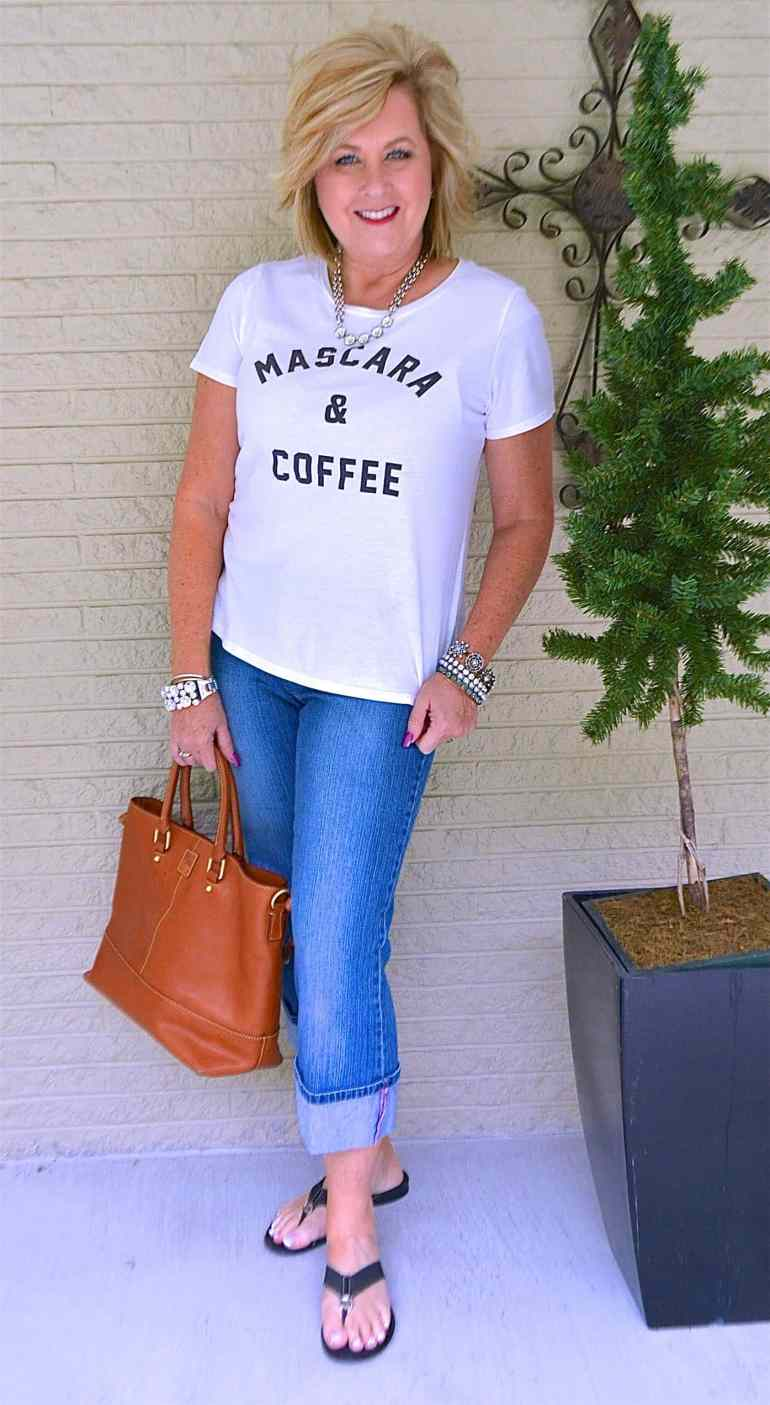 ALL YOU NEED IS MASCARA AND COFFEE