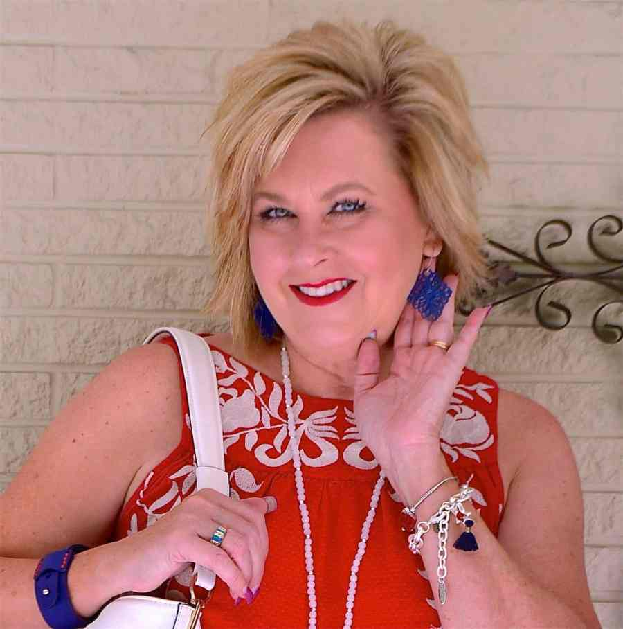 50 IS NOT OLD | HOW TO LOOK PATRIOTIC AND STILL BE STYLISH