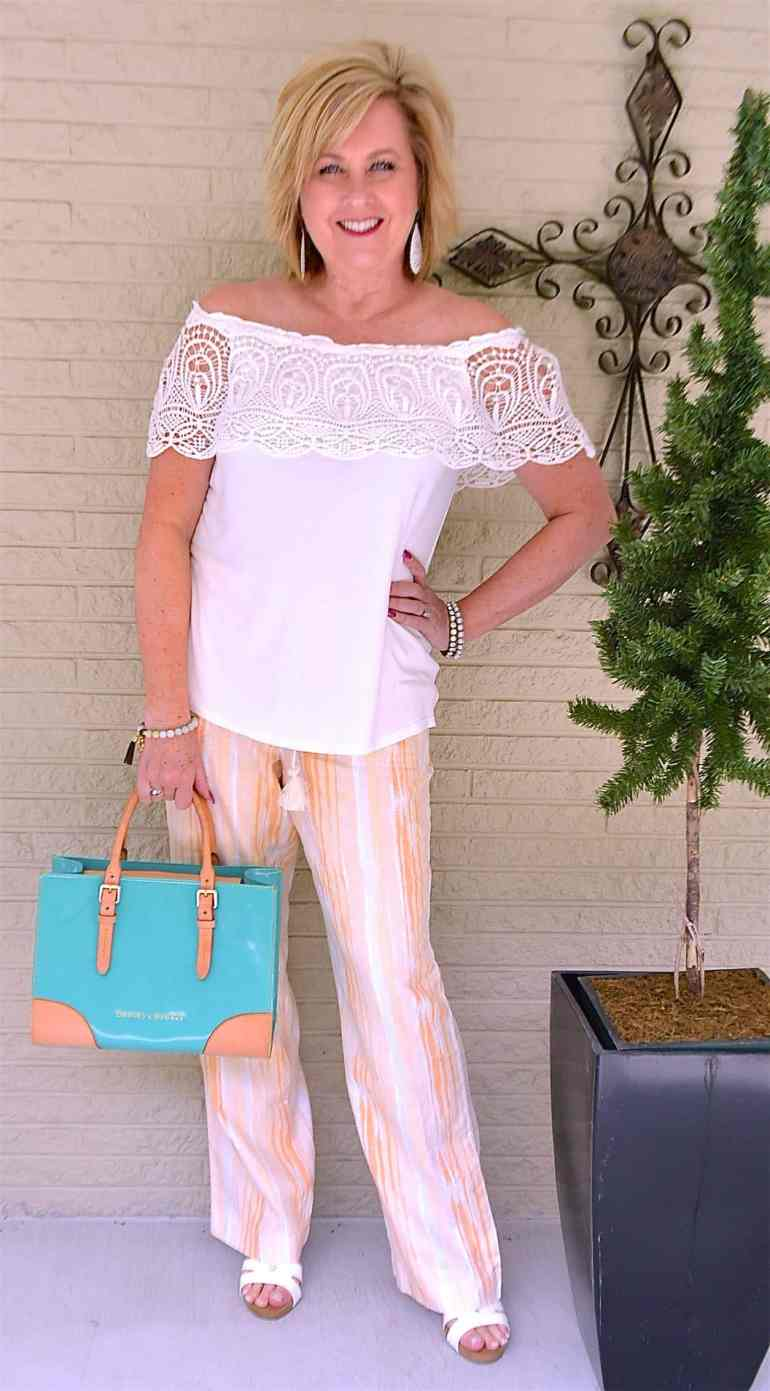 50 IS NOT OLD | LINEN AND LACE