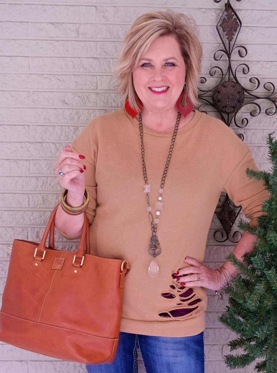 50 IS NOT OLD | ADDING FASHIONABLE DETAILS