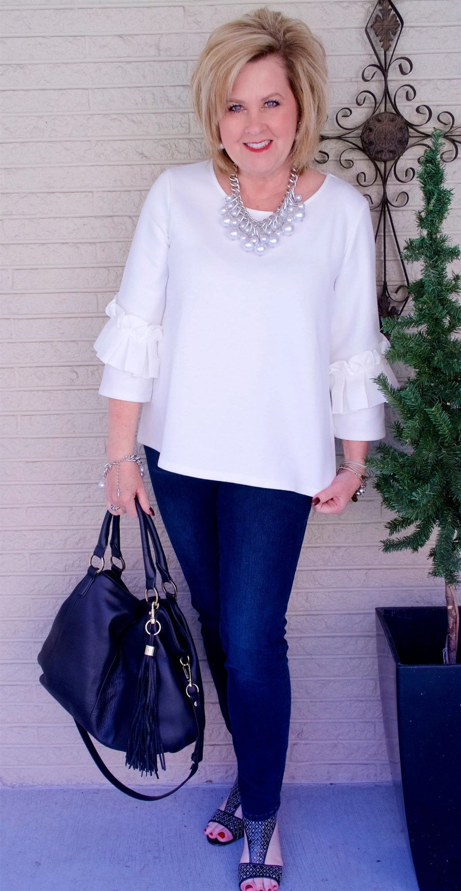 50 IS NOT OLD | BOX PLEAT AND RUFFLES