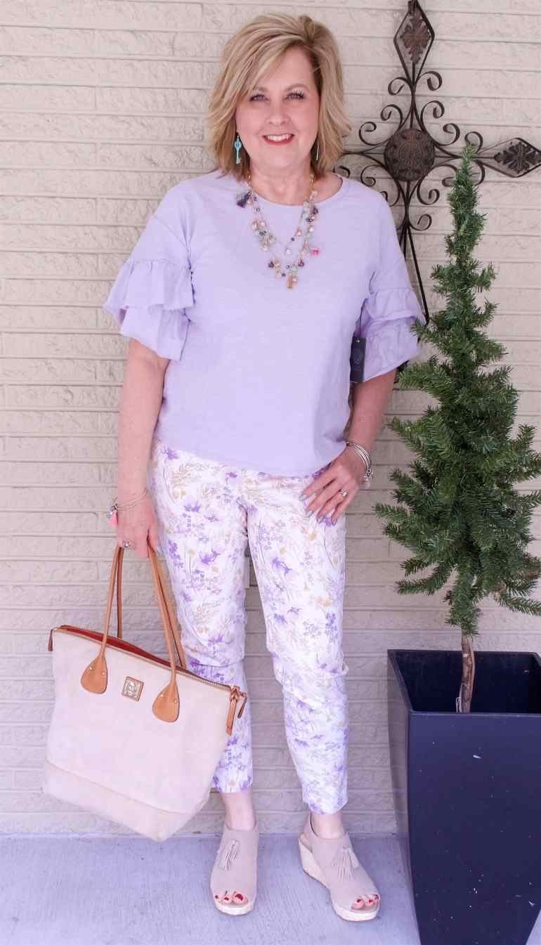 50 IS NOT OLD   PASTELS FOR SPRING   FASHION OVER 40