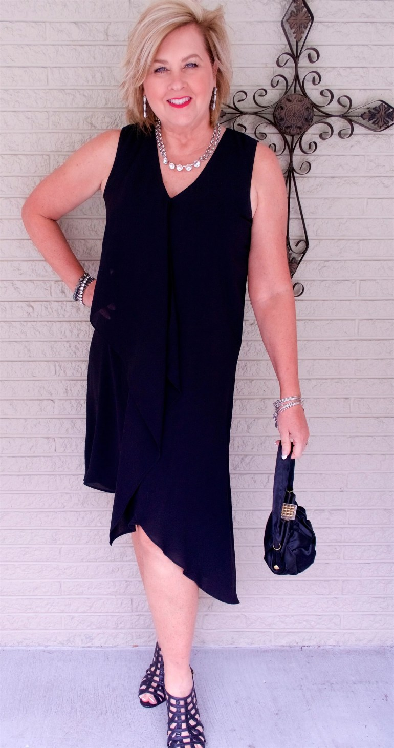 50 IS NOT OLD | UPDATED LITTLE BLACK DRESS | FASHION OVER 40