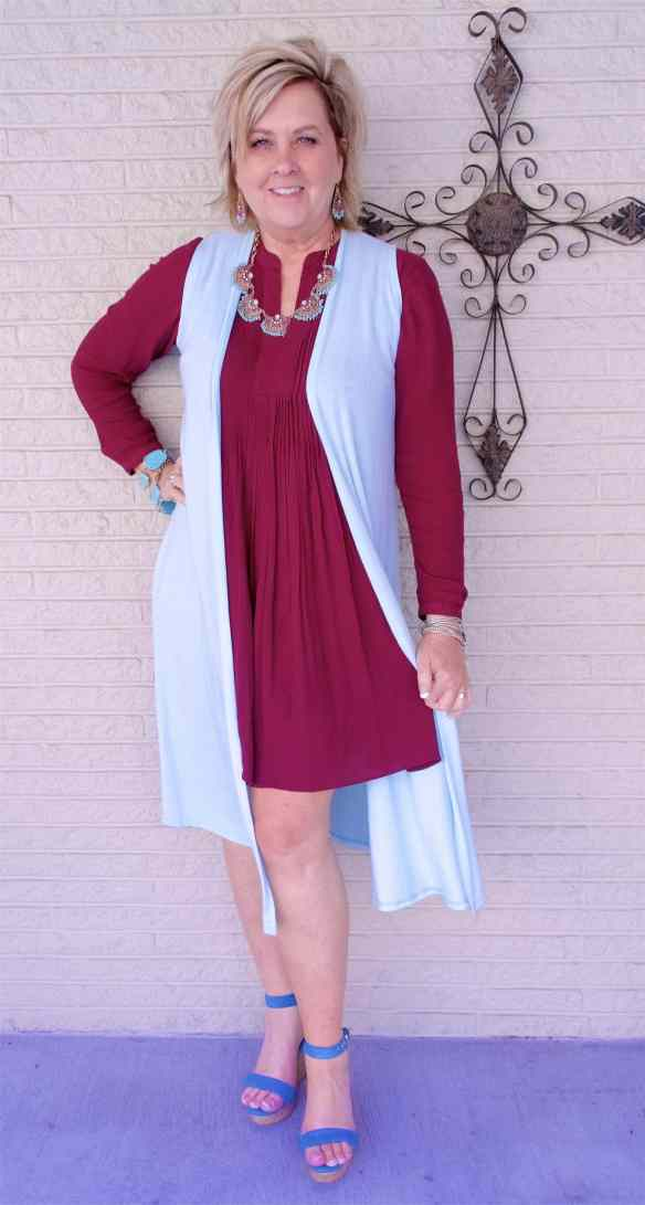 50 IS NOT OLD | LONG SLEEVES FOR SPRING | FASHION OVER 40