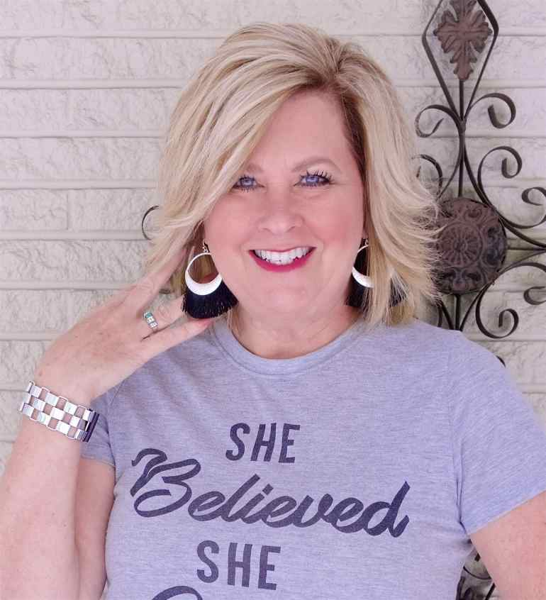 50 IS NOT OLD | SHE BELIEVED SHE COULD | FASHION OVER 40